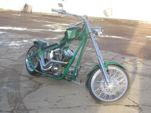 Chopper fender